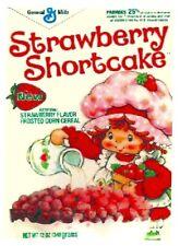 STRAWBERRY SHORTCAKE 80's Cereal Box  Retro Vintage HQ  Fridge Magnet