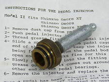 Shimano XT Stein Pedal Injector Tool For Greasing Pedals Model II NOS