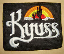KYUSS - LOGO Embroidered PATCH Sleep Orange Goblin Melvins Soundgarden