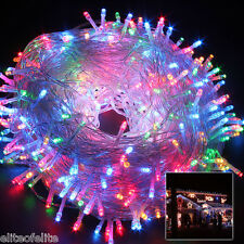 50M 250 Led Multi Color String Fairy Lights Christmas Tree Party Wedding Garden