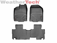 WeatherTech® Floor Mats FloorLiner for Lincoln MKX - 2011-2015 - Black