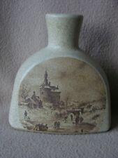 """CONTINENTAL Germania Ovest base lampada ceramica """"Granito"""" con città SCENA INVERNALE"""