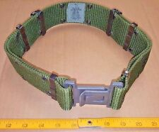 US Military PISTOL BELT, Gray Qk-Release, Utility OD-Green MED, Alice LC-2 EXC!