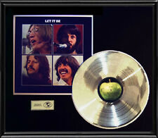 BEATLES LET IT BE GOLD RECORD PLATINUM  DISC LP UK ALBUM RARE ORIGINAL!