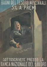 C1726) BANCA NAZIONALE DEL LAVORO, SOTTOSCRIVETE, BUONI DEL TESORO.