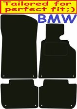 Tailored Deluxe Quality Car Mats Bmw 3Series e46 Saloon 1998-2005 ** Black **