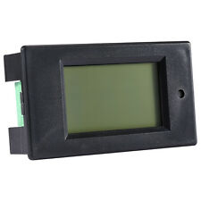 DC 6.5-100V 100A LCD Combo Panel Meter Voltage Power Monitor current KWh watt