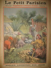 INDE SADIYA LAKHIMPUR MASSACRE DE COLONS ANGLAIS JOURNAL LE PETIT PARISIEN 1911