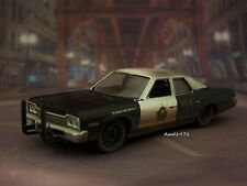 BLUES BROTHERS 1974 74 DODGE MONACO 1/64 SCALE DIECAST COLLECTIBLE DIORAMA MODEL