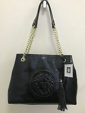 NEW ARRIVAL! ANNE KLEIN LEO LEGACY VI BLACK GOLD SHOPPER SATCHEL BAG PURSE $99