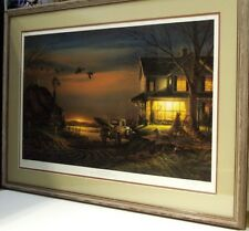 Special Memories by Terry Redlin DU 1989, 5600 s/n edition framed farm scene