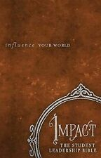 Impact: The Student Leadership Bible: Influence Your World, , Good Book