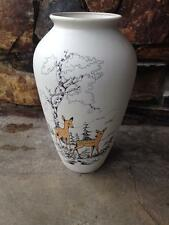 Jasba pottery  West German Deere vase