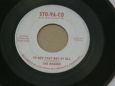 "ROGUES NOT THAT WAY STO VA CO orig US G45 GARAGE MOD  BEAT JAZZ INSTRO7"" 45 HEAR"