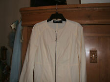 SALE MARCCAIN COTTON JACKET14/16 short jacket PRIMROSE uk14 £219.00 RRP BARGAIN