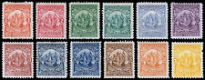 El Salvador Scott 177-188 (1898) Mint H F-VF Complete Set