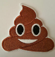 Pile of Poo Emoji Poop Emoji Iron on Transfer sew On patch
