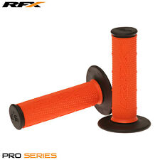 RFX Dual Density Grips Soft-Mid Compound ORANGE BLACK Motocross Enduro