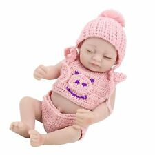 Reborn Dolls Baby Girl Handmade Newborn Baby Pocket dolls Kids Birthday Gifts10""