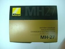 Genuine Nikon MH-27 Battery Charger Nikon 1 J1 J2 J3 S1 AW1 COOLPIX A EN-EL20