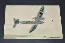 CPA AVIATION WW2 BLOHM-VOSS BV-141 LUFTWAFFE GUERRE 39-45 Ph. CHARBONNEAUX