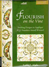 Masterpiece Applique Flourish on the Vine Full Size Quilt Pattern with Booklet