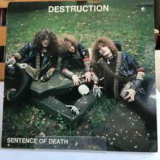 DESTRUCTION Sentence Of Death Vinyl LP Metal Blade 1985 thrash metal MBR 1039