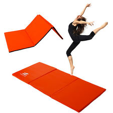 Thick Folding Panel Gymnastics Mat Gym Fitness Exercise Stretching Yoga Tum