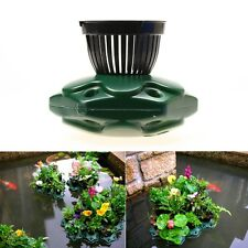 Aquaponics Floating Pond Planter Basket Kit - Hydroponic Island Gardens Features