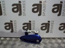 FIAT PUNTO 1.2 2008 PASSENGER SIDE FRONT EXTERNAL DOOR HANDLE 426 MIDNIGHT BLUE