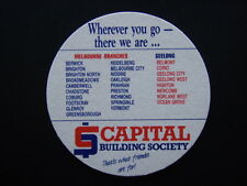 CAPITAL BUILDING SOCIETY THAT'S WHAT FRIENDS ARE FOR COASTER