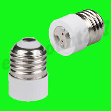 HIGH QUALITY ES E27 To MR16 Light Bulb Adaptor Socket Converter Holder UK STOCK