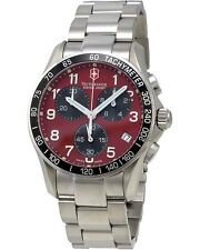 VICTORINOX SWISS ARMY - Men's Chrono Classic Red Dial Watch 241148