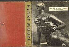 Grohmann THE ART OF HENRY MOORE 1960 illustrated hardback in jacket