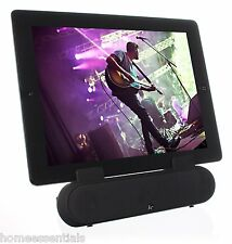 KITSOUND noir Haut-parleur stéréo surround stand tablette iphone smartphone ipad ipod