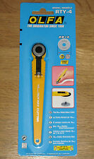 OLFA 18mm rotary cutter hobby craft couture rty-4 coupes Tissu Papier - * NOUVEAU *