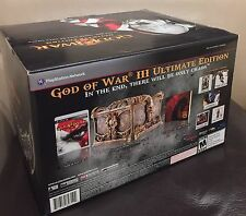 BRAND NEW SEALED PS3 God of War III Ultimate Edition (Sony PlayStation 3) US Ver
