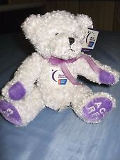 "RELAY FOR LIFE- AMERICAN CANCER SOCIETY 2003 BEAR -""CAREGIVER"" MINT WITH TAGS"