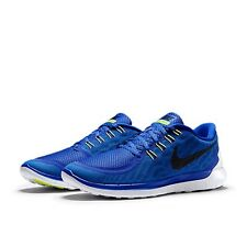 Nike Free 5.0 New Men's Blue Trainers Running Lightweight Authentic UK size 10