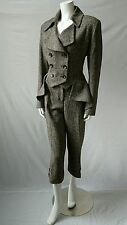 HOBBS TWEED  RIDING TAILCOAT SUIT SIZE 14/16