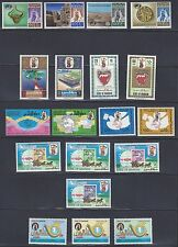 BAHRAIN 1970 80 COLLECTION OF 43 IN COMPLETE SETS INCLUDES SG 171 4 184 7 199