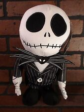 "NIGHTMARE BEFORE CHRISTMAS Animated 12"" Jack Skellington Dancing Plush NEW"