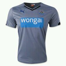NWT Mens Puma Newcastle United Away Jersey Shirt Trade Winds 745996 02 2XL $85