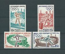 MALI - 1964 YT 63 à 66 - TIMBRES NEUFS** LUXE