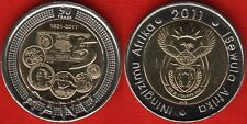"South Africa 5 rand 2011 ""SA Reserve Bank"" BiMetallic UNC"