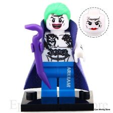 Custom Arkham Joker Cape Minifig Suicide Squad fits with Lego xh319 UK Sellar