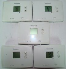 Lot of 5 Honeywell Thermostat RTH111B for Heating and Cooling Systems