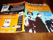 RADIOHEAD DISCO CD + DVD!!!!!!!!!!RARE FRENCH PRESS/KIT