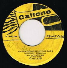 "PIONEERS-never come running back    7""    (hear)      caltone  boss  reggae"