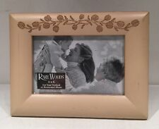 """Rare Woods Picture Frame For Photo 4""""x 6"""" Maid In Thailand"""